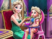 Elsa Mommy Toddler Feed