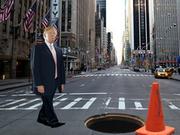 Push Trump Off A Cliff Again