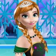 Princess Anna Party Makeover