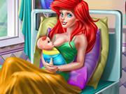 Princess Mermaid Mommy Birth