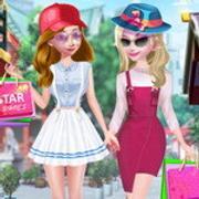Frozen Spring Street Fashion