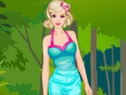Barbie Animal Prints Dress Up