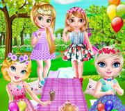 Little Princesses Park Party
