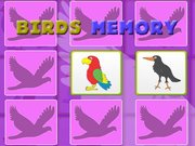 Kids Memory Game - Birds