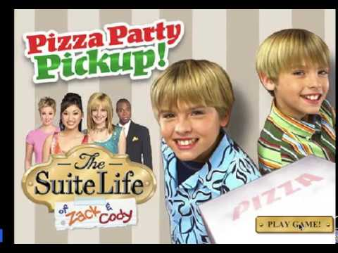 Suite Life of Zack and Cody Pizza Party Pickup Game , Play
