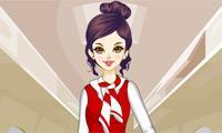Airline Stewardess Dress Up