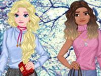 Princess Winter Shopping Online