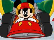 Mickey Racing Car