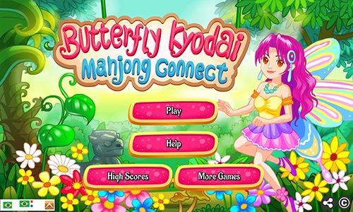 Butterfly Kyodai Mahjong Connect