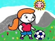 Footballs Coloring Book
