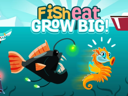 Fish Eat Grow Big Game - Play Fish Eat Grow Big Online for Free at YaksGames