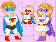 Super Hero Family Jigsaw