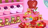 Valentine's Store Decoration