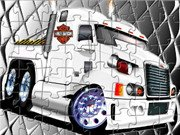 Harley Trucker Jigsaw