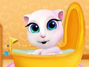 Baby Angela Bathing Time