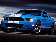 Mustang Shelby Puzzle