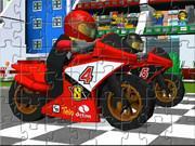 Lego Moto Racing Puzzle