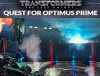 Transformers Quest  For Optimus Prime