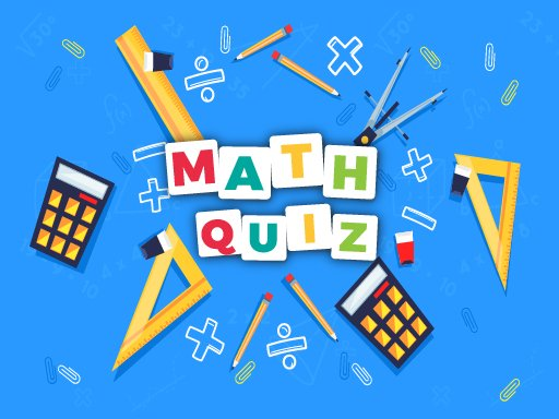 Math Quiz Game Game Play Math Quiz Game Online For Free At Yaksgames