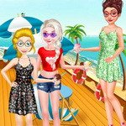 Princesses Summer Seaside Vacation