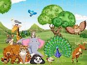 Wild Animals Jigsaw 2