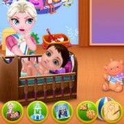 Naughty Elsa's Children's Day