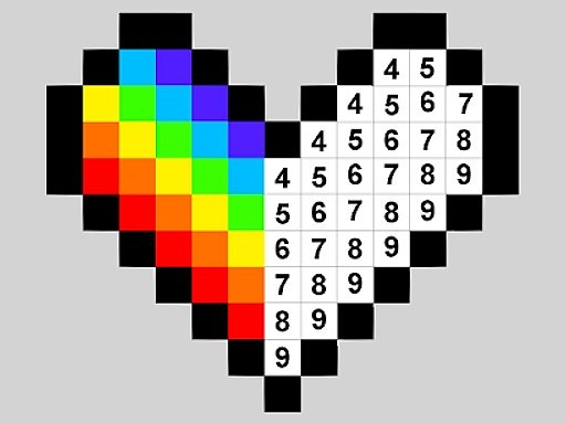 Color by Numbers Game - Play Color by Numbers Online for ...