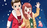 Happy New Year Couple