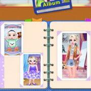 Elsa Photo Album Of Growth