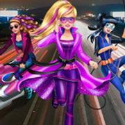 Barbie Agent Team Dress Up