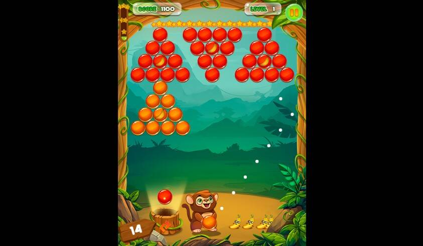 Monkey Bubble Shooter Game - Play Monkey Bubble Shooter Online for Free at YaksGames