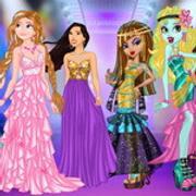 Princess Vs Monster Supermodel Battle