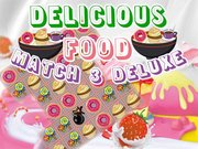 Delicious Food Match 3 Deluxe