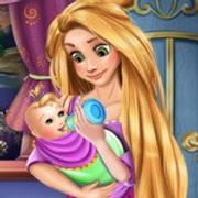 Rapunzel Baby Caring